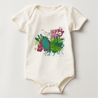 Hip Hop State of Mind Baby Bodysuit