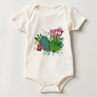Hip Hop State of Mind Baby Bodysuit