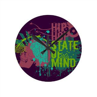 Hip Hop State of Mind Clock