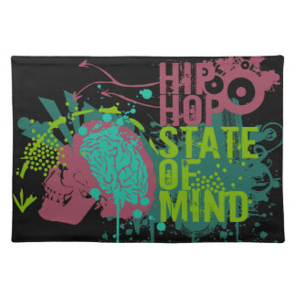 Hip Hop State of Mind Cloth Placemat