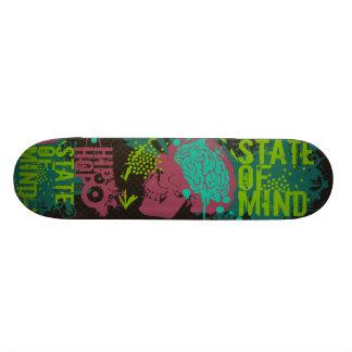 Hip Hop State of Mind Skate Board