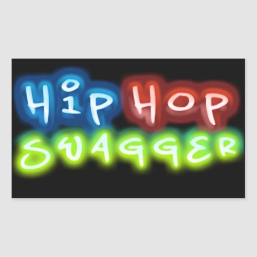 Hip Hop Swagger Stickers 03