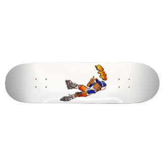 Hip Hop Teenage Skater Cartoon Skateboard