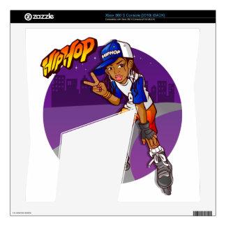 Hip Hop Teenage Skater Cartoon Skin For Xbox 360 S