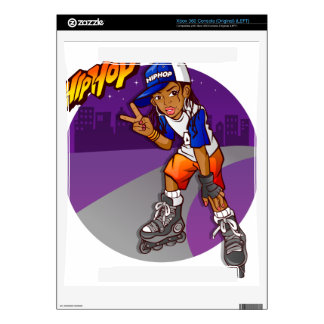 Hip Hop Teenage Skater Cartoon Xbox 360 Decal