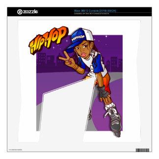 Hip Hop Teenage Skater Cartoon Xbox 360 S Skins