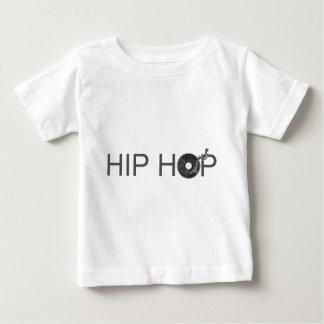 Hip Hop Turntable - Music Vinyl Record Disc Jockey Baby T-Shirt