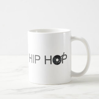 Hip Hop Turntable - Music Vinyl Record Disc Jockey Coffee Mug