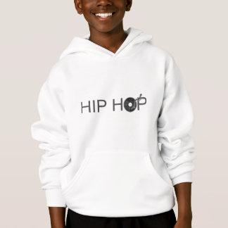 Hip Hop Turntable - Music Vinyl Record Disc Jockey Hoodie