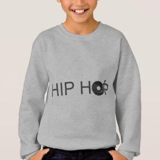 Hip Hop Turntable - Music Vinyl Record Disc Jockey Sweatshirt