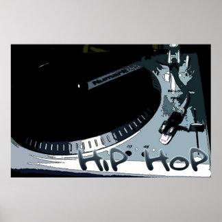 Hip-Hop Turntable Print
