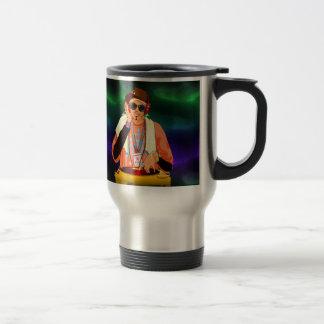 Hip Hop Turntable Travel Mug