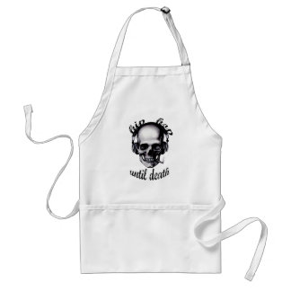 Hip Hop Until Death Adult Apron