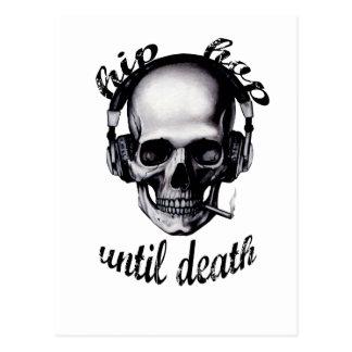 Hip Hop Until Death Postcard