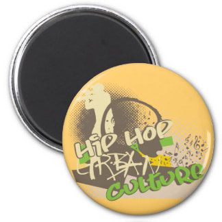 Hip Hop Urban Culture Tshirts and Gifts Fridge Magnets