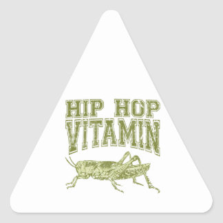 Hip Hop Vitamin Triangle Sticker