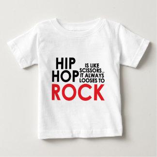 Hip Hop Vs Rock Baby T-Shirt