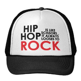 Hip Hop Vs Rock Trucker Hat
