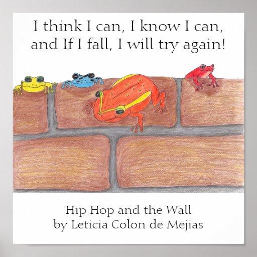 Hip Hop y el poster de la pared