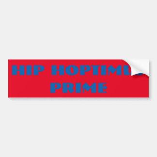 Hip Hoptimus Prime Bumper Sticker