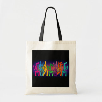 Hip Joyful Modern Dancers Dancing Tote Bag