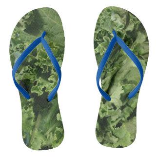Hip Kale Vegan Flip Flops