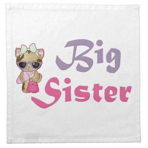 Hip Kitty Big Sister 5 Napkins