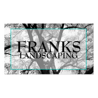 Hip Landscaping Tree Line Business Cards