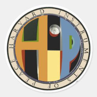 HiP Logo Round Sticker