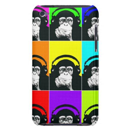 Hip Monkey Pop Art Phone Case iPod Case-Mate Cases