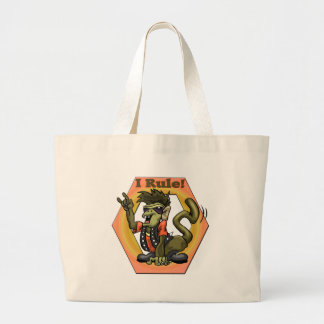 Hip Monkeys Rule Funny T-shirts Gifts Jumbo Tote Bag