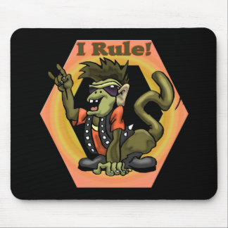 Hip Monkeys Rule Funny T-shirts Gifts Mouse Pad