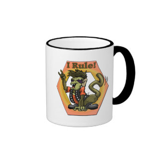 Hip Monkeys Rule Funny T-shirts Gifts Ringer Coffee Mug