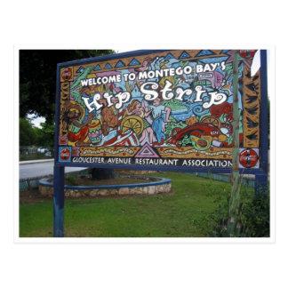 hip montego bay postcard