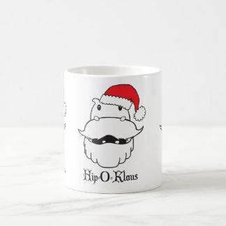 Hip-O-Klaus Classic White Coffee Mug