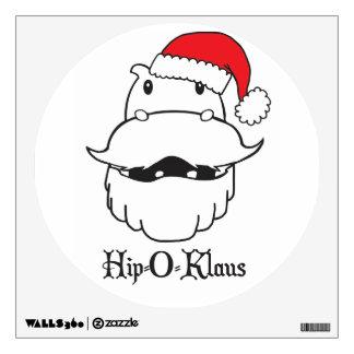Hip-O-Klaus Wall Decal