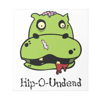 Hip-O Undead Note Pad