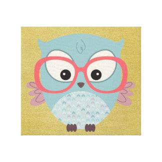 Hip Owl Canvas Print