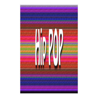 Hip POP Designs Personalized Stationery