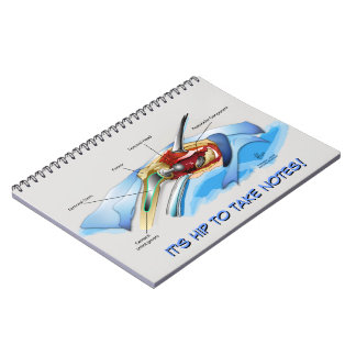 Hip Replacement Infographic notebook