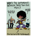 Hip Replacement Posters