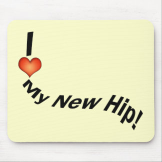 Hip Replcement T-shirts | Get Well Gifts Mouse Pad
