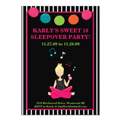 HIP RETRO MODERN Sassy Girl Birthday Card