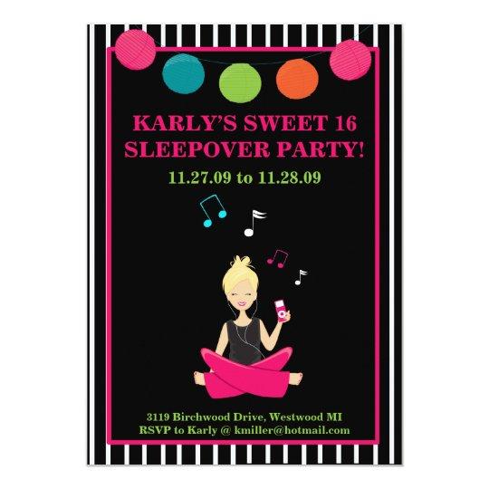HIP RETRO MODERN Sassy Girl Birthday Card