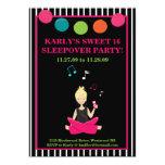HIP RETRO MODERN Sassy Girl Birthday Invites