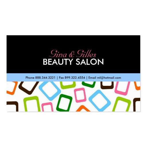 Hip Salon Business Cards
