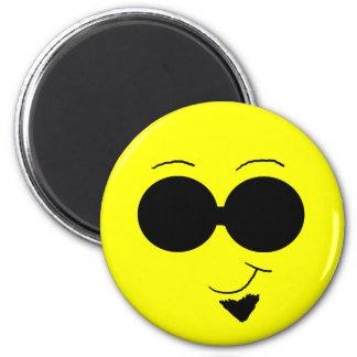 Hip Smiley Magnet