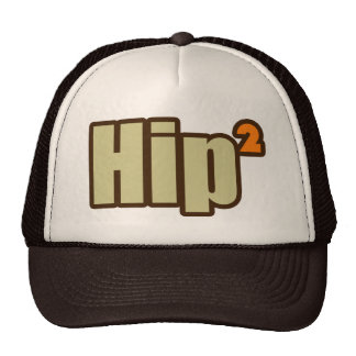 Hip to be Squared the nerdy way Trucker Hat