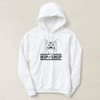 Hip to Snip Kitty Men's Basic Hoodie