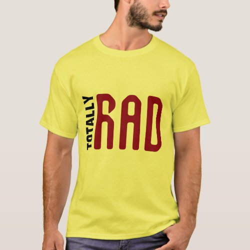 hip totally rad father gift for dad t_shirt design